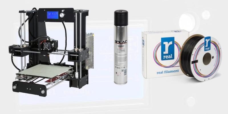 Prusa i3 Pro DIY Start Bundle - € 205
