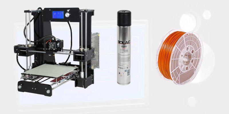 Prusa i3 Pro DIY Start Bundle - € 290